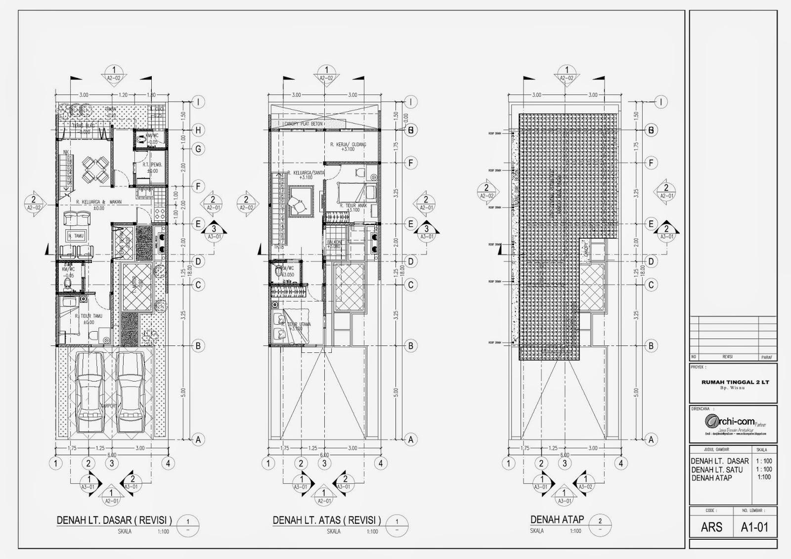 Image Result For Denah Rumah Minimalis Hemat Biaya