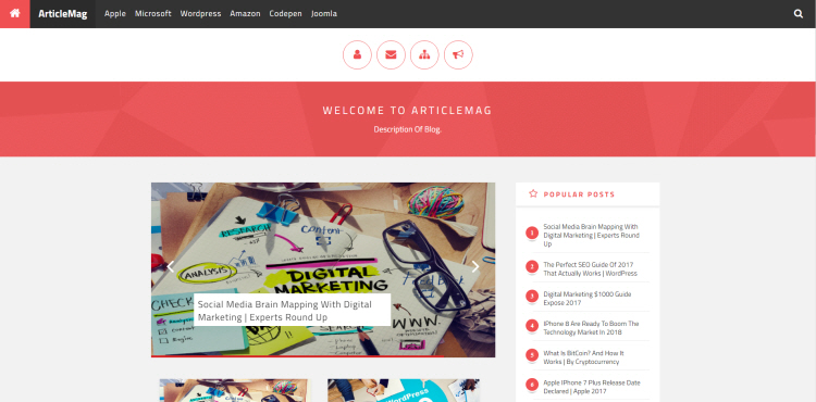 articlemag blogger template