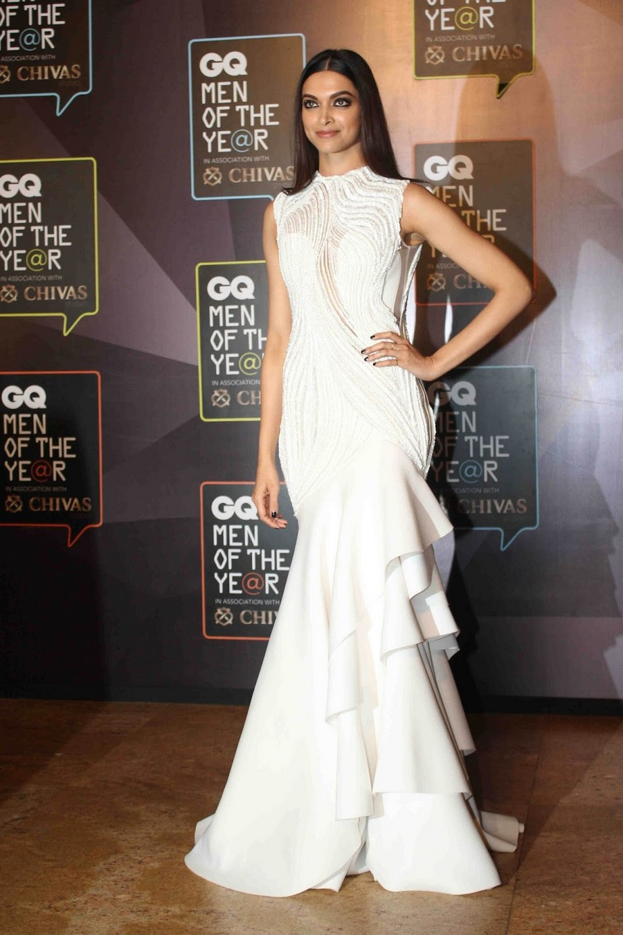 Hot Deepika Padukone Photos In White Gown