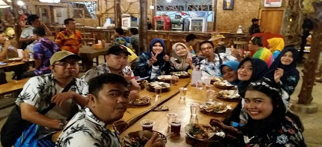 Meat and great bamboo cafe pangandaran