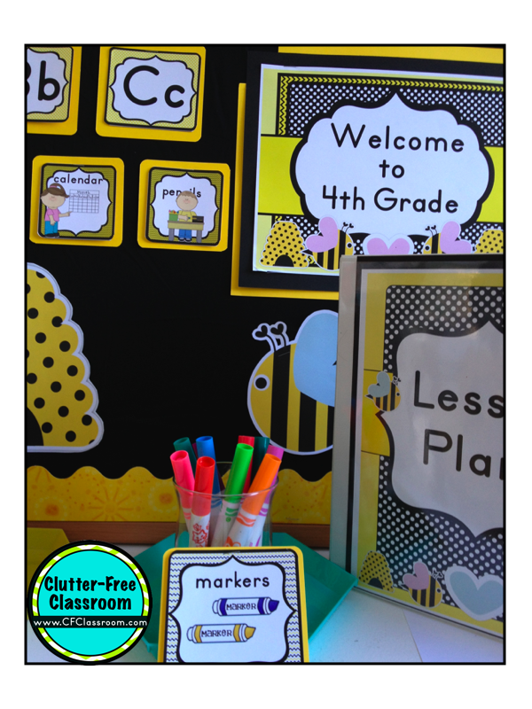 Classroom Ideas With Bees ~ Bee themed classroom photos tips ideas pictures and
