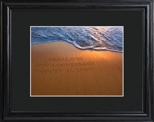 Sparkling Sands Framed Print