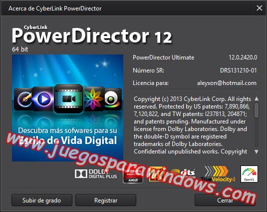 Cyberlink Director Suite 2 Full PC ESPAÑOL 11