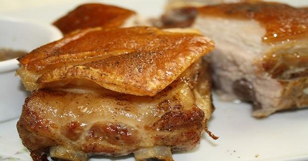 Lechon Sa Hurno (Oven Roasted Pork)
