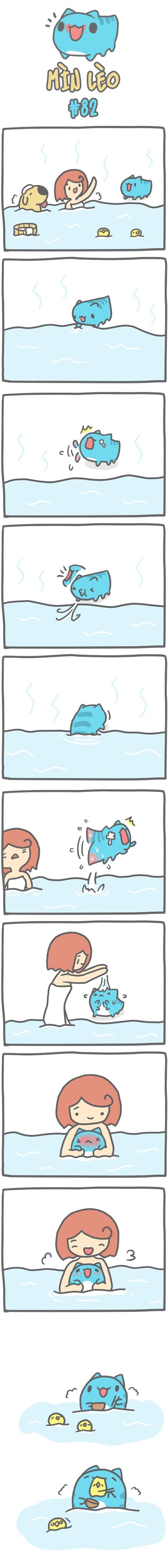 Truyện Mìn Lèo #82: Tắm nước nóng