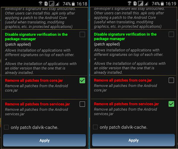 unpatch enable signature verification lucky patcher-1