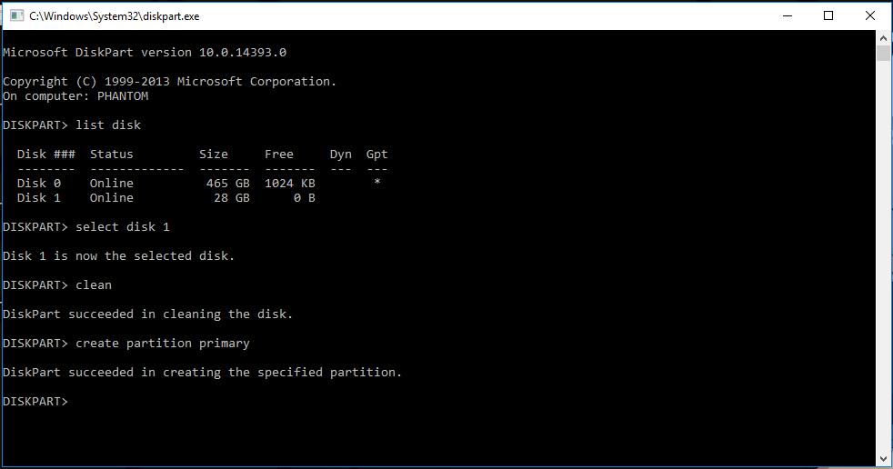 cara membuat Windows bootable pada flashdisk tanpa software