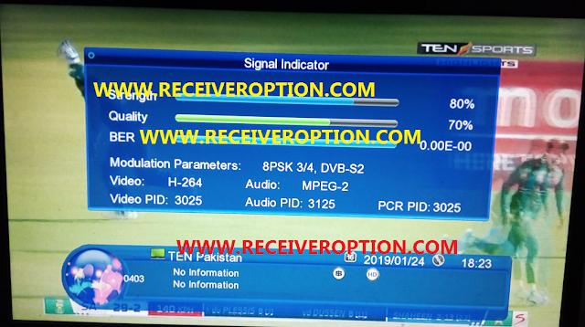 ECHOLINK 2020 HD RECEIVER POWERVU KEY NEW SOFTWARE WITH ORIGINAL REMOTE