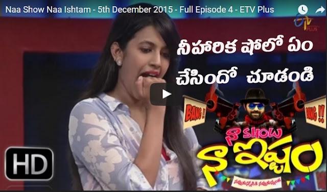 Niharika Konidala Pradeep Funny Show !!