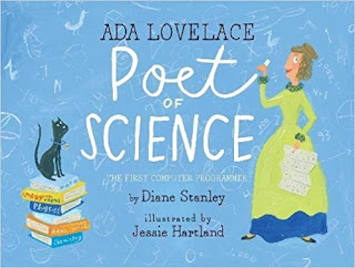 https://www.amazon.com/Ada-Lovelace-Poet-Science-Programmer/dp/1481452495/ref=sr_1_1?ie=UTF8&qid=1504312213&sr=8-1&keywords=ada+lovelace+poet+of+science