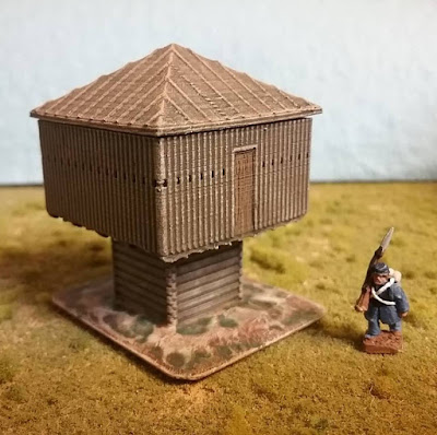 Raised Blockhouse