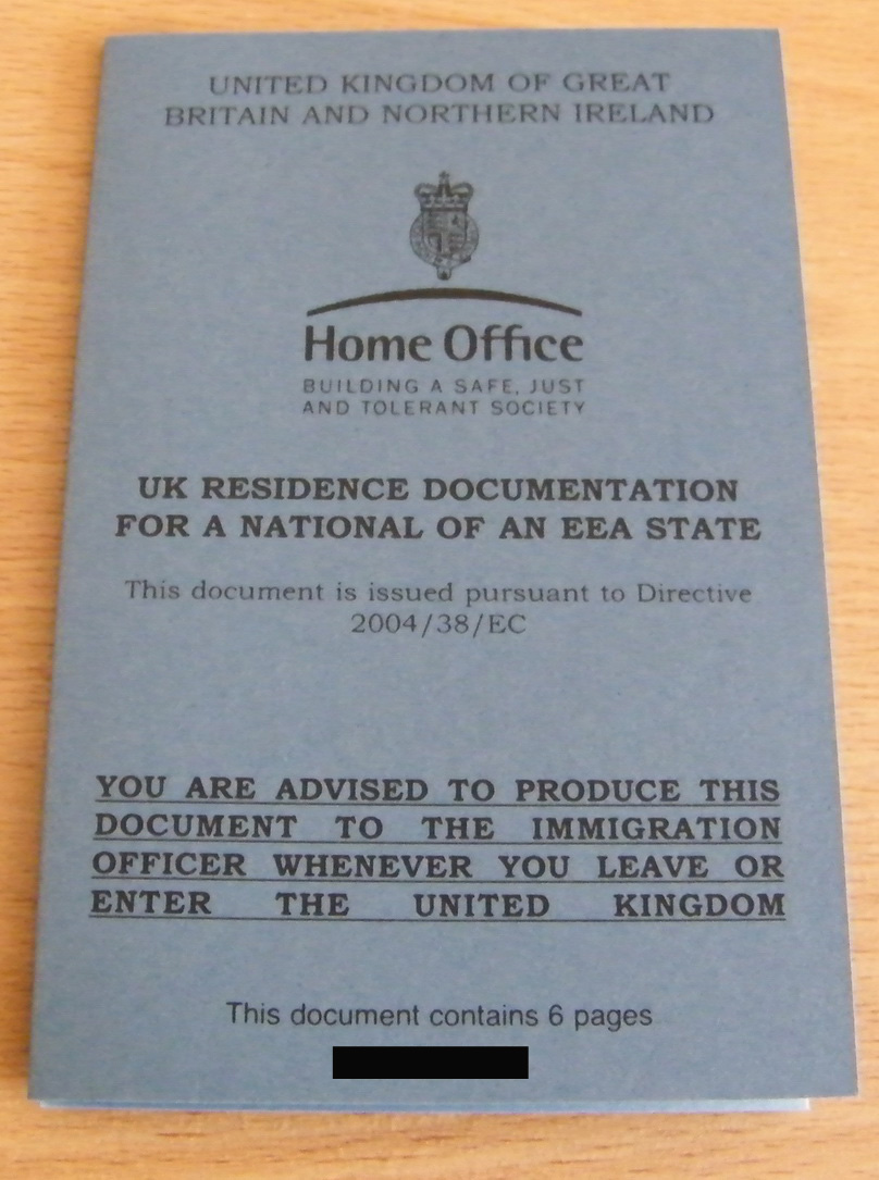 Apply for a permanent residence document or permanent residence card: form EEA (PR)
