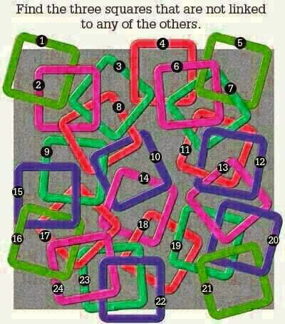 Square Figure Puzzle