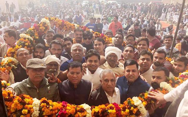 BJP leader Rajesh Nagar's Saramdari's nephew welcomed