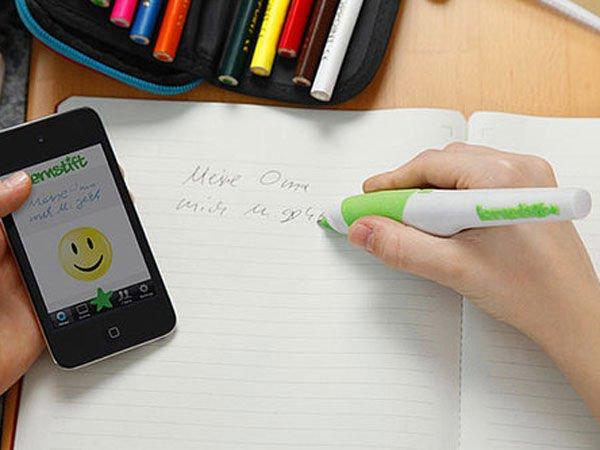 Inventan bolígrafo que vibra cuando cometes faltas de ortografía