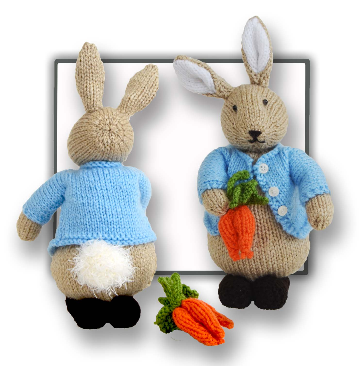 Peter bunny rabbit knitted toy pattern bankloansurffo Choice Image