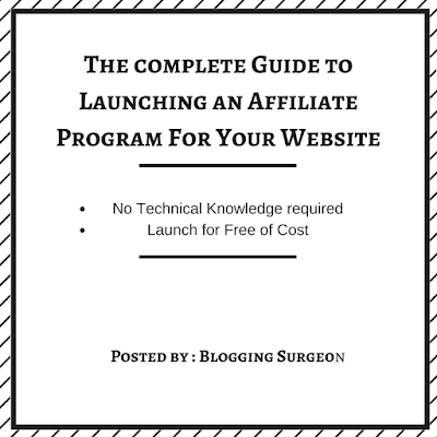 Guide to launch an affiliate program