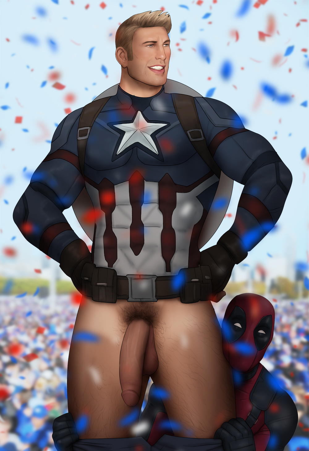 Chris evans nude full frontal cock exposed
