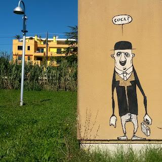 urka street art puppet