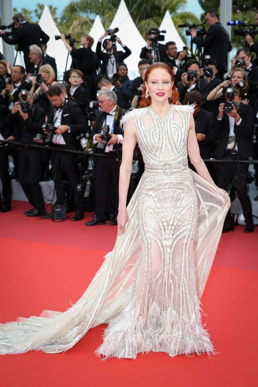 Barbara Meier At 2019 Cannes Film Festival Opening Ceremony