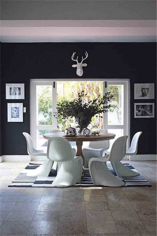 Casa con interior yin yang chicanddeco