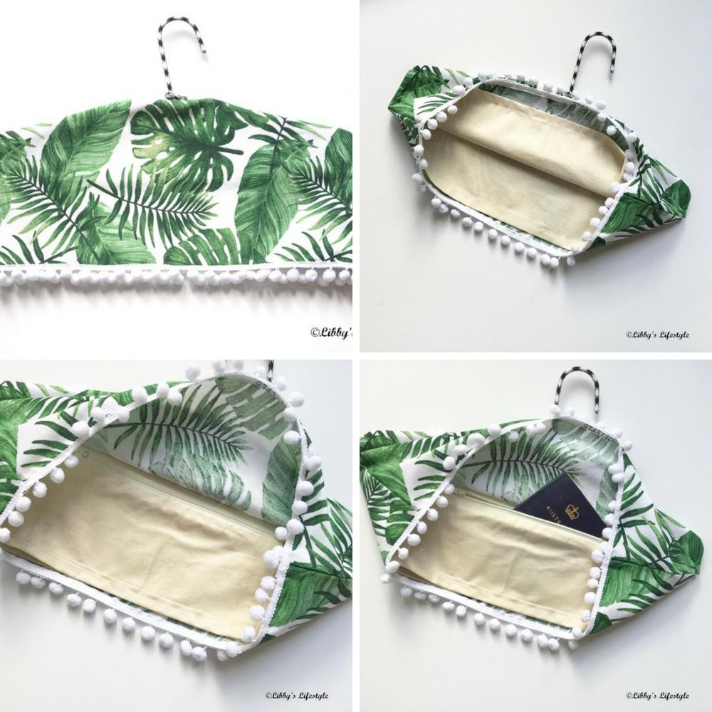 Sewing tutorial: Secret pocket clothes hanger cover