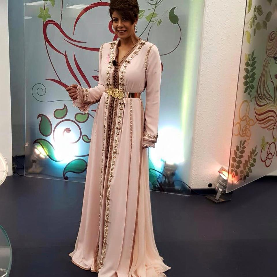 Robe de soiree marocaine 2018