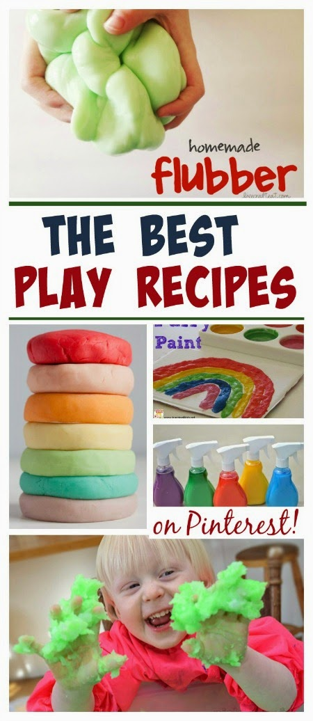 50 best play recipes on Pinterest- so many fun ideas I can't wait to try them all!