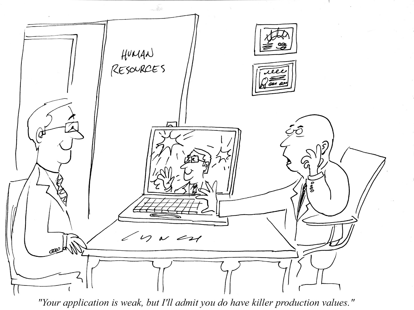 Mike Lynch Cartoons Resume Cartoons