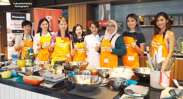 PANASONIC CUBIE OVEN Bloggers Get-Together Cooking Workshop