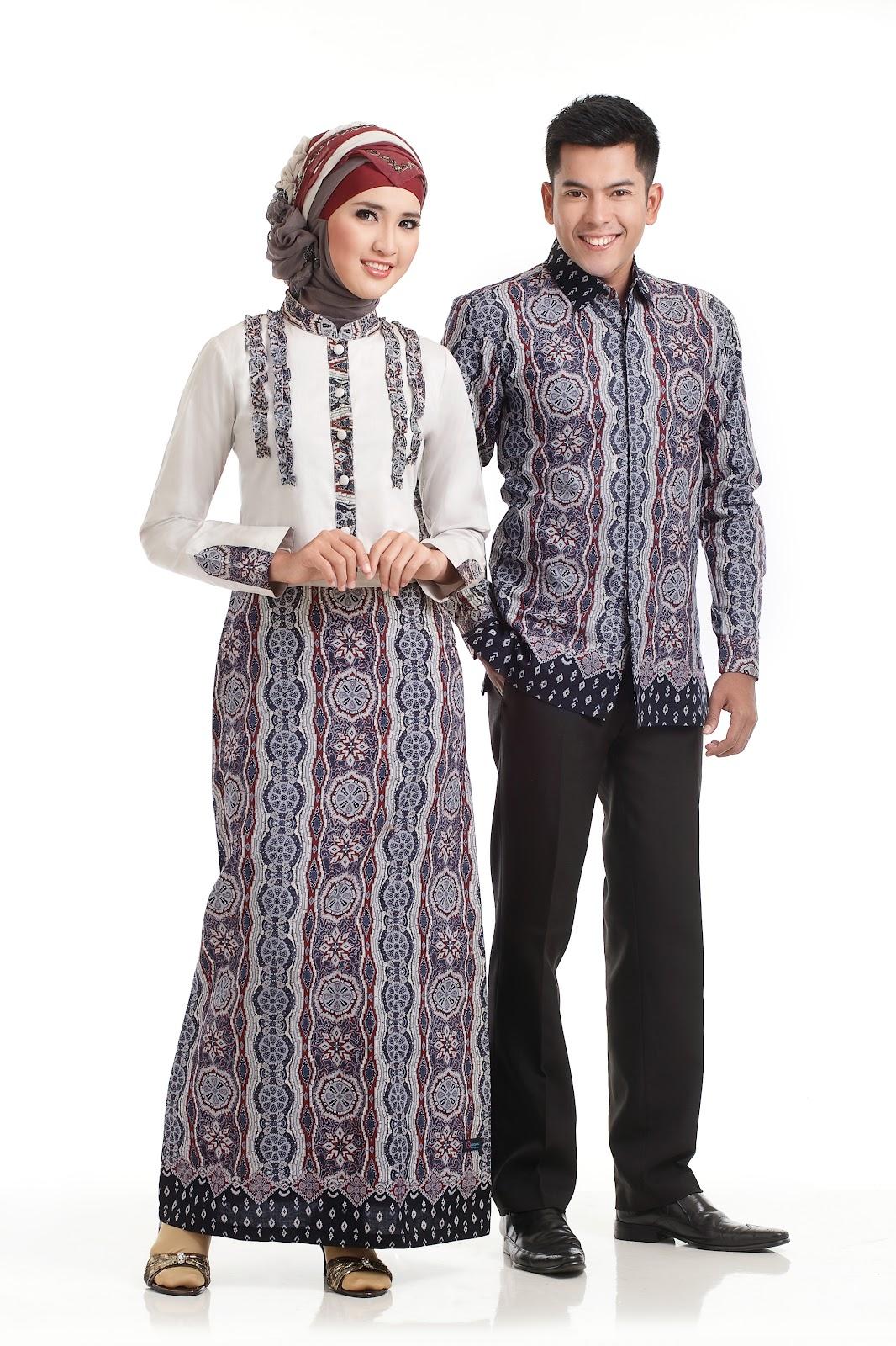 Model Gamis Variasi Batik