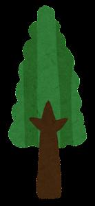 シンプルな木のイラスト1