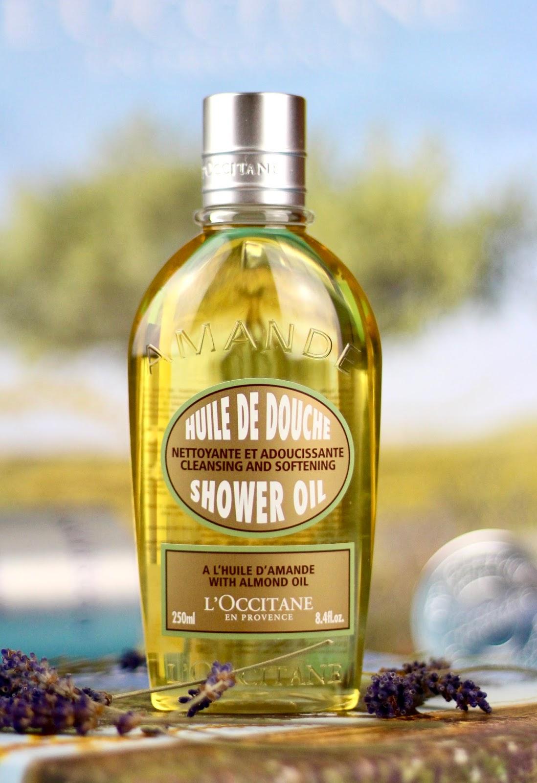 loccitane sprchovy olej recenzia