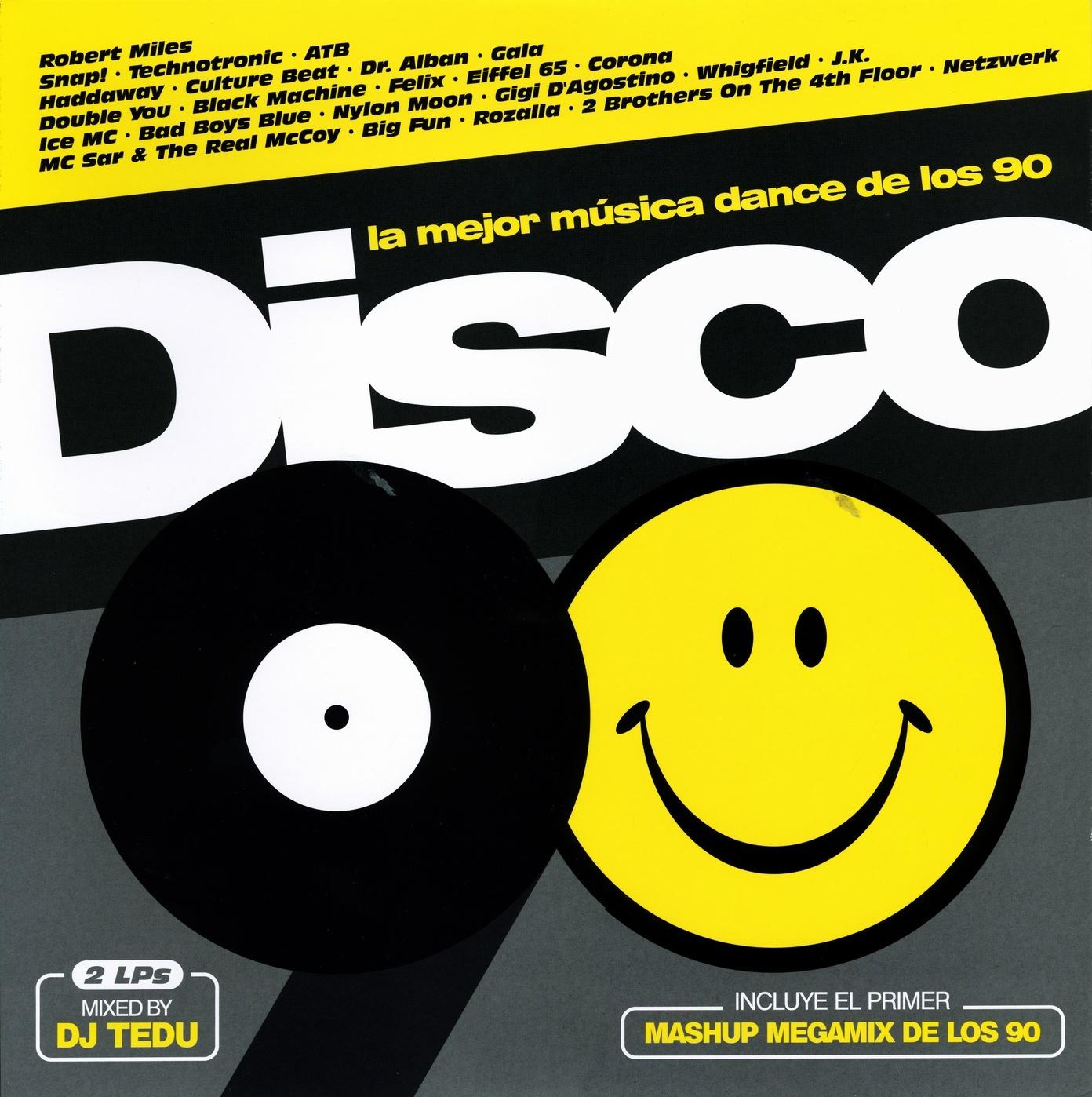 La Mejor Musica Dance De Los 90 Disco 90 2 215 Vinyl Lp