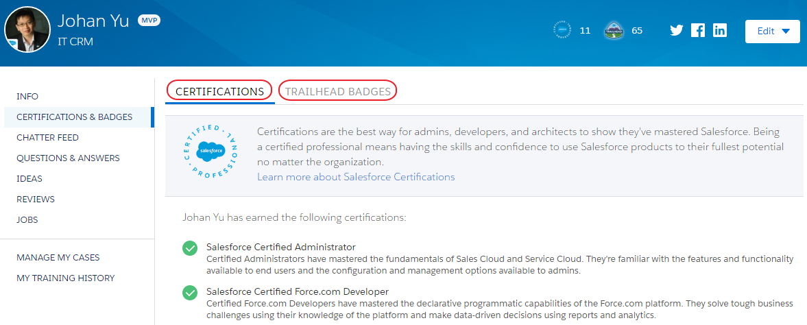 SimplySfdc com: Adding Certs and Badges to Your Salesforce