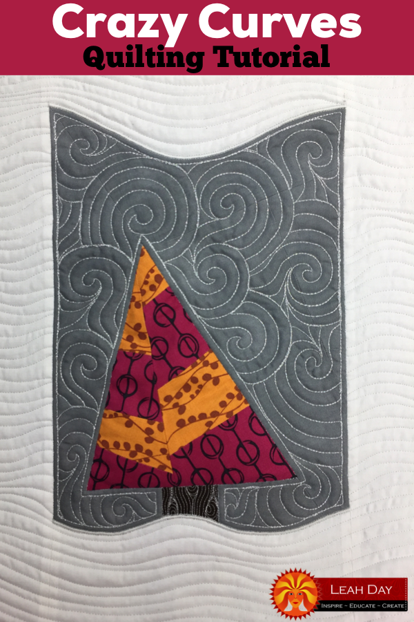 The Free Motion Quilting Project Quilting Crazy Curves On