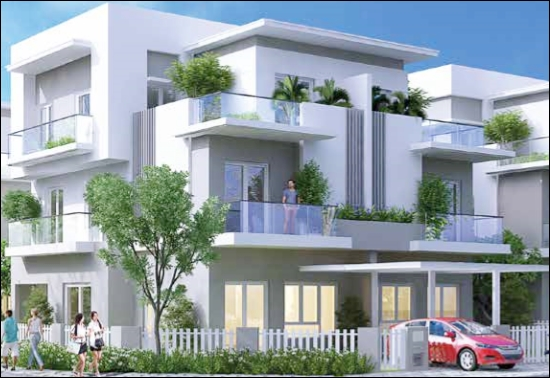 Cho thuê biệt thự nhà phố Melosa Garden Khang Điền Quận 9