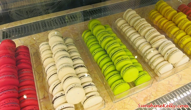 fresh macaroons, Newens Tea House, Starhill Gallery, Kuala Lumpur, Maids of Honour Tarts, British Tea House, English Tea