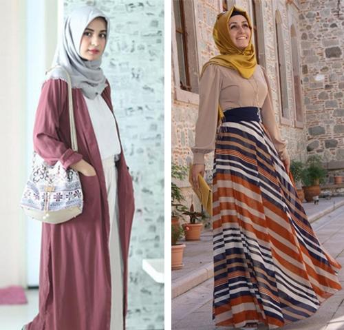 fashion baju hijab simple