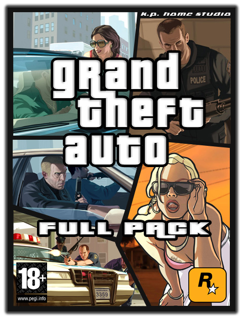 Grand Theft Auto FULL PACK  24,4€