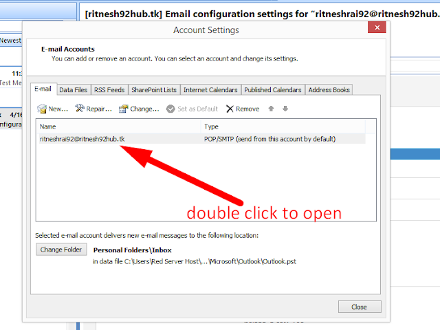 How to connect Webmail with Outlook| best linux hosting provider