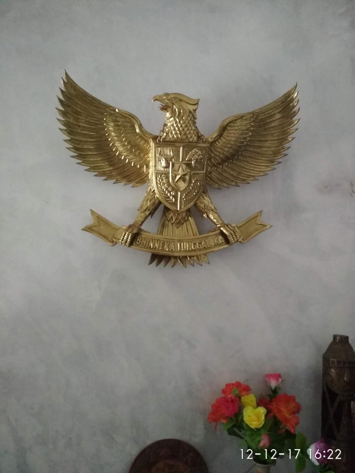 Patung Garuda Kerajinan Tembaga Dan Kuningan Yahro Art