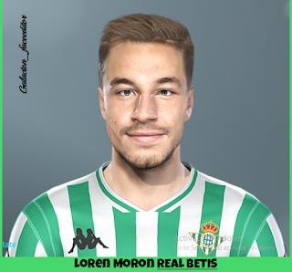 PES 2019 Faces Loren Morón by Galacton_Faceeditor