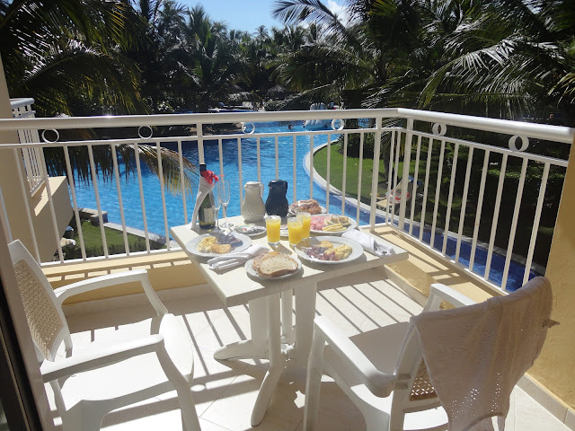 Café da manhã no quarto do hotel Dreams Punta Cana