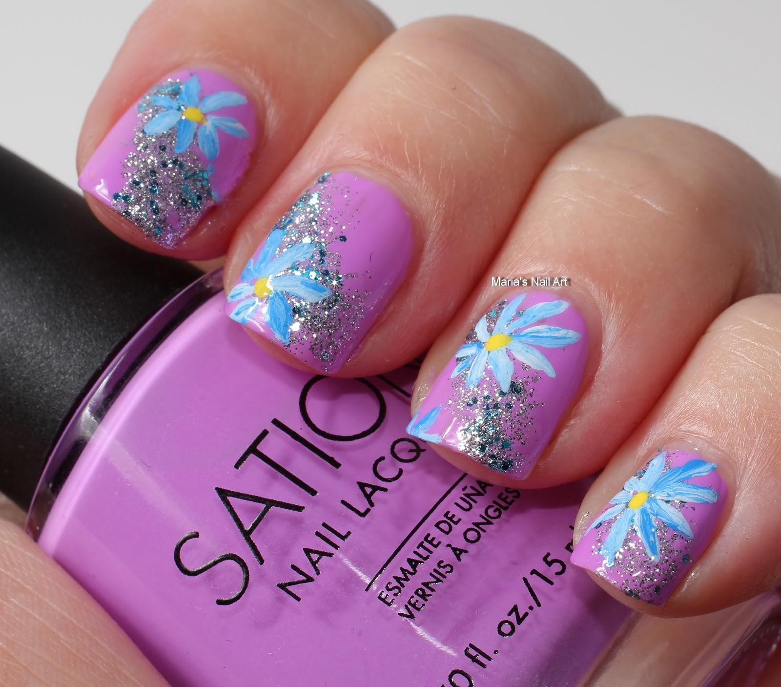 Marias Nail Art And Polish Blog Love At First Lavender