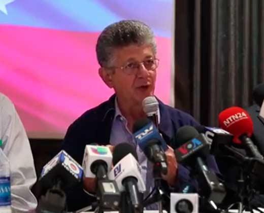 Esto dijo Ramos Allup en Miami sobre la salida a la crisis venezolana