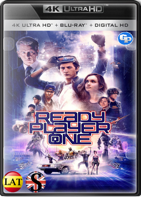 Ready Player One (2018) 4K UHD LATINO/INGLES