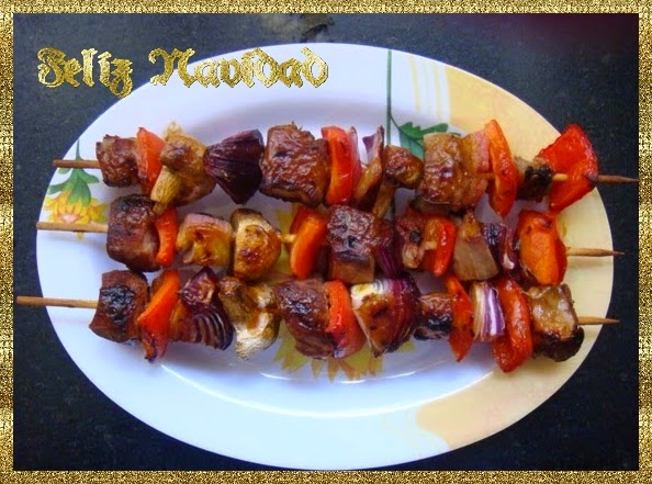 Deliciosa brochette | Recetas de Cocina