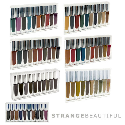 strangebeautiful nail lacquers