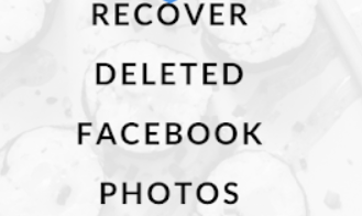 Recover Deleted Photos from Facebook messenger